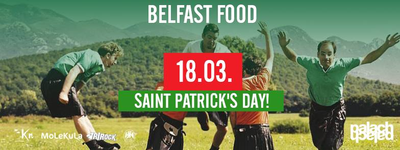 St. Patrick's Day uz Belfast Food