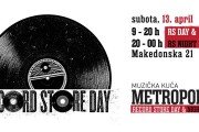 Record Store Day & Night u Muzičkoj kući Metropolis